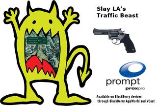 LA Traffic Monster - Prompt punctuality app